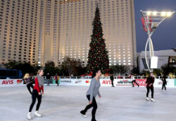 Toshiba Plaza at The Park will host an ice skating rink for the holiday season.