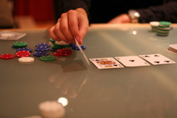 Tournaments leave you short stacked a lot of the time limiting your action,