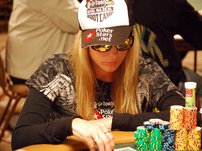 Vanessa Rousso enjoyed a steady upward climb in chips.