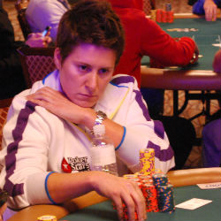 Vanessa Selbst has already won two WSOP gold bracelets.