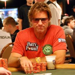 Vince Van Patten saw his tournament end early on Day 5.
