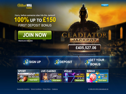 William Hill's online casino and sportsbook