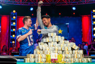 John Cynn crowned 2018 WSOP Main Event champ