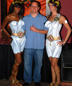 Gary Trask and the UB girls
